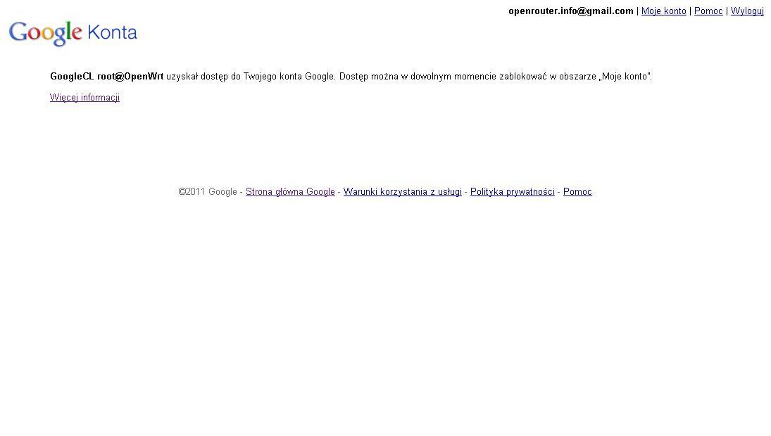 Konta Google